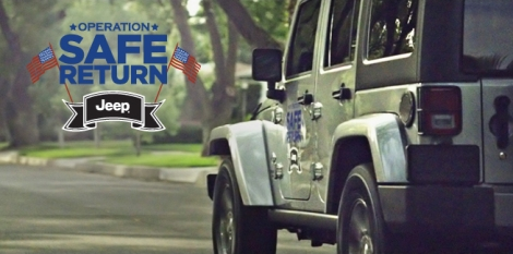 Jeep Provides S.A.F.E. Return For Troops